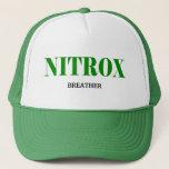NITROX BREATHER.  FOR THE NITROX SCUBA DIVER TRUCKER HAT