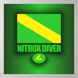 Nitrox Diver Posters