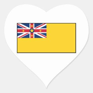 Niue Flag Stickers