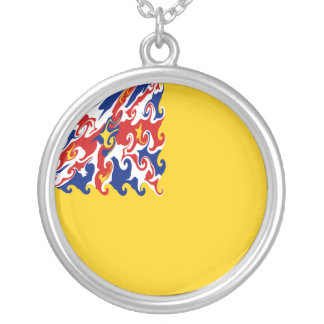 Niue Gnarly Flag Necklace