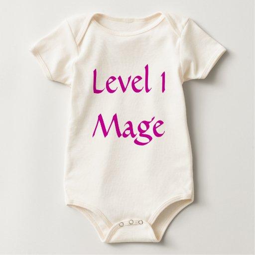 Nivel 1 Mage Trajes De Bebé