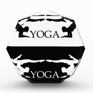 Nivel avanzado de la actitud de la yoga