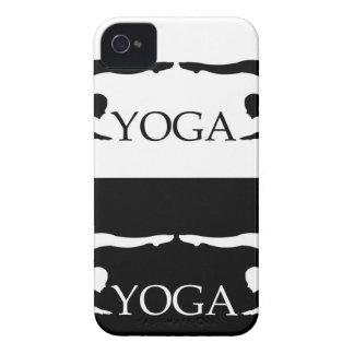 Nivel avanzado de la actitud de la yoga funda para iPhone 4 de Case-Mate
