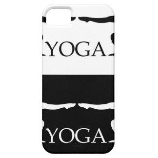 Nivel avanzado de la actitud de la yoga funda para iPhone SE/5/5s