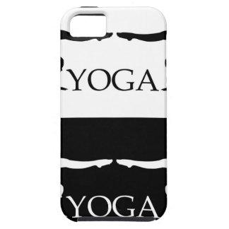 Nivel avanzado de la actitud de la yoga iPhone 5 carcasas