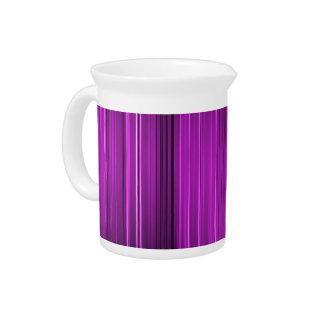 Niveles púrpuras del dolor jarra de beber