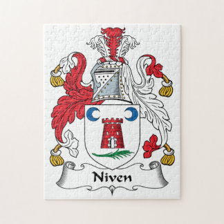 Niven Family Crest Puzzles