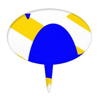 Nivernais-provincia-Bandera Decoración De Tarta