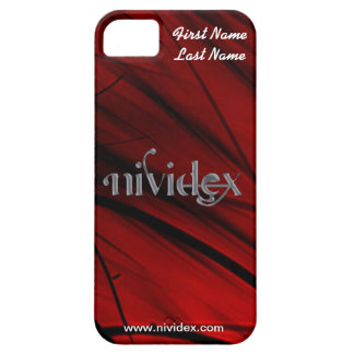 NiViDeX iPhone 5 Case (Red)