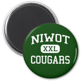 Niwot - pumas - High School secundaria - Niwot Col Imán Redondo 5 Cm
