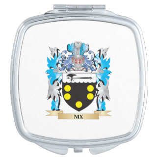 Nix Coat of Arms - Family Crest Makeup Mirrors