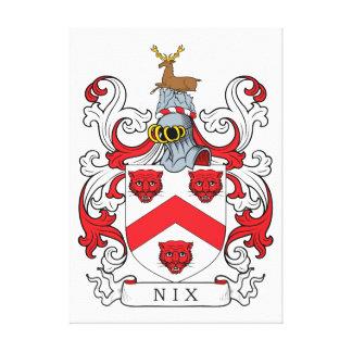 Nix Family Crest Canvas Print