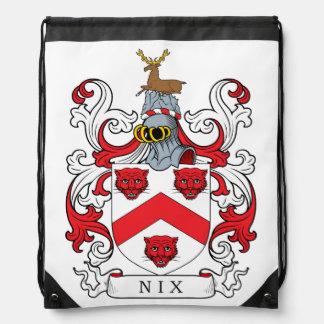 Nix Family Crest Cinch Bags