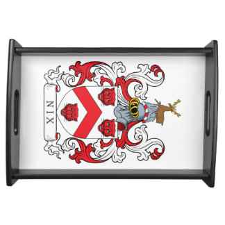 Nix Family Crest Serving Tray