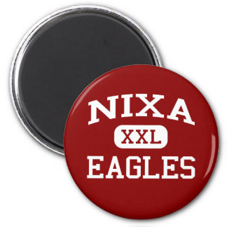 Nixa - Eagles - Junior High School - Nixa Missouri 2 Inch Round Magnet
