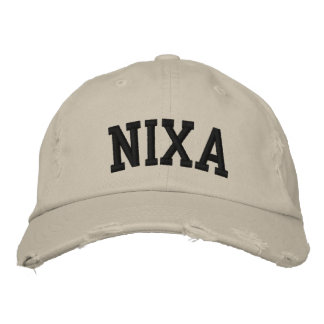 Nixa Embroidered Hat Embroidered Baseball Caps