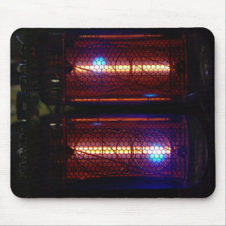 Nixie Tubes Mouse Mat
