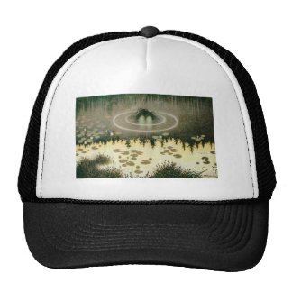 Nixie Water Spirit Vintage Art Trucker Hat