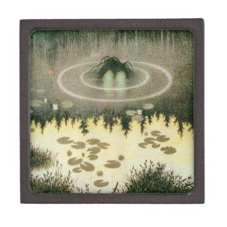 Nixie Water Spirit Vintage Artwork Keepsake Box