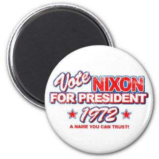 Nixon 1972 Election Magnets