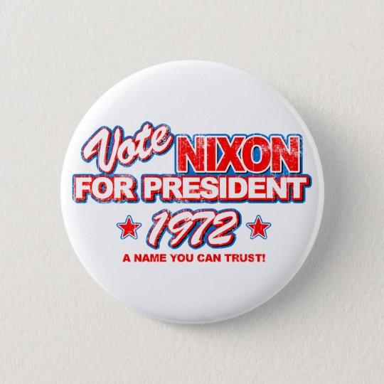 Nixon 1972 Election Pinback Button