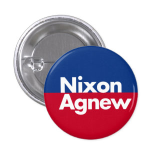 Nixon Agnew 1968 Campaign Button