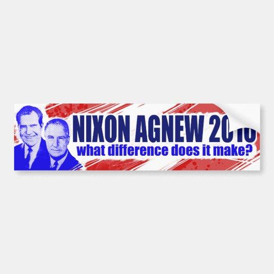 Nixon/Agnew 2016 Bumper Sticker