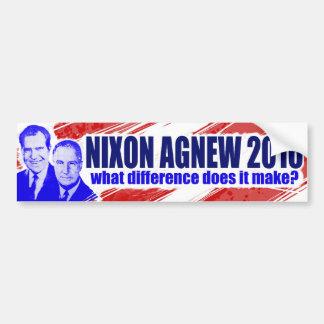 Nixon/Agnew 2016 Etiqueta De Parachoque