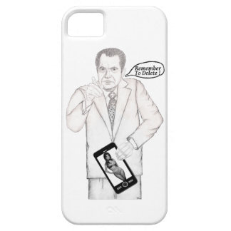 """NIXON CELL PHONE COVER """"Remember To Delete"""" iPhone 5 Cover"""