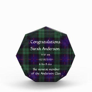 Nixon clan Plaid Scottish kilt tartan Award