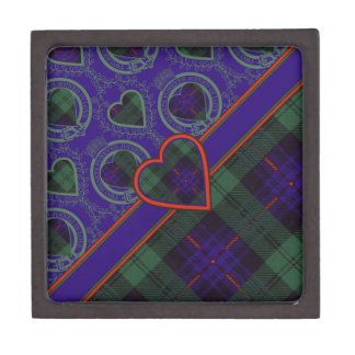 Nixon clan Plaid Scottish kilt tartan Gift Box