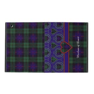 Nixon clan Plaid Scottish kilt tartan iPad Cases