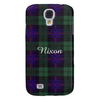 Nixon clan Plaid Scottish kilt tartan Samsung S4 Case