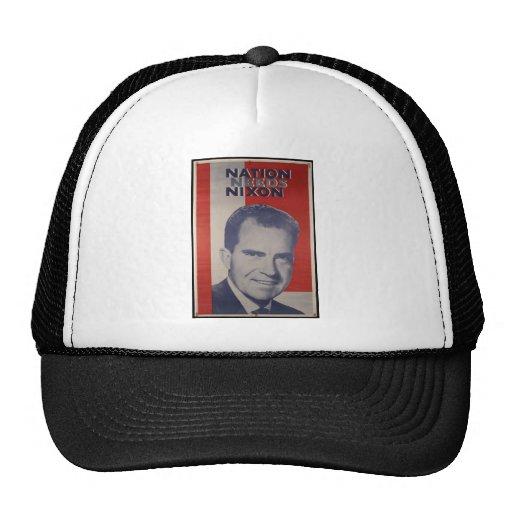 Nixon en 2012 gorros bordados