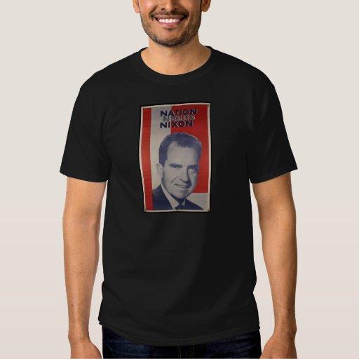 Nixon en 2012 remeras