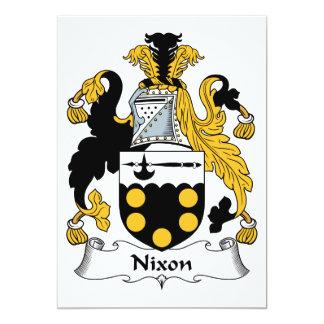 Nixon Family Crest Invitation