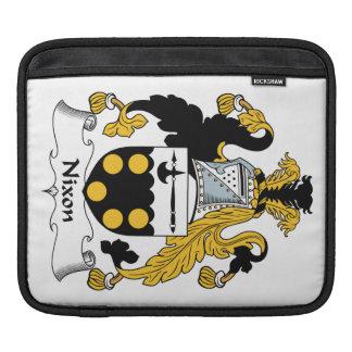 Nixon Family Crest iPad Sleeve