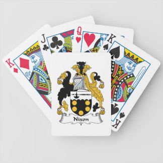 Nixon Family Crest Bicycle Card Decks