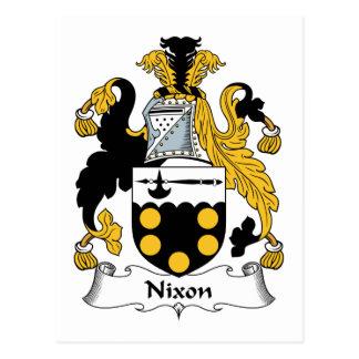 Nixon Family Crest Post Card