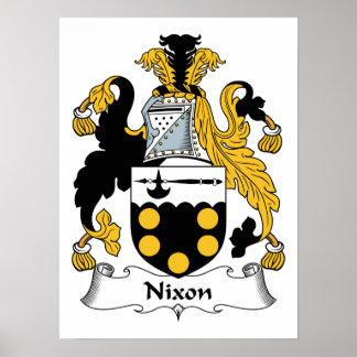 Nixon Family Crest Print