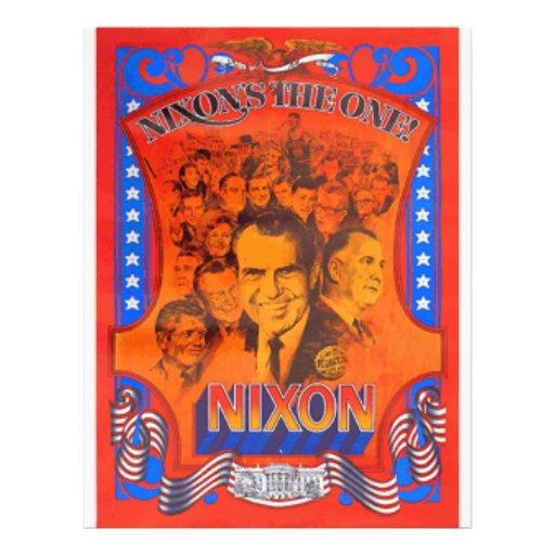 Nixon Full Color Flyer