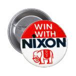 Nixon-GOP - Botón Pins