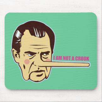 Nixon, I am not a Crook Mouse Mats