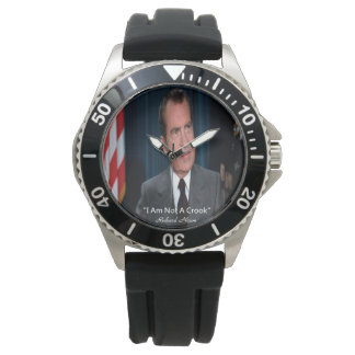 Nixon & I Am Not A Crook Watch