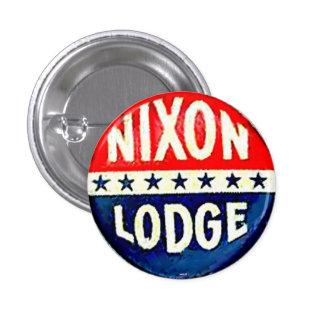 Nixon-Lodge 1 Inch Round Button