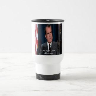 Nixon & Not A Crook Quote Travel Mug