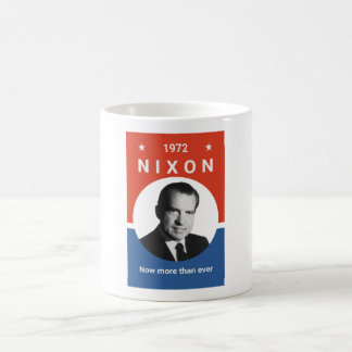 Nixon - Now More Than Ever - 1972 Coffee Mug