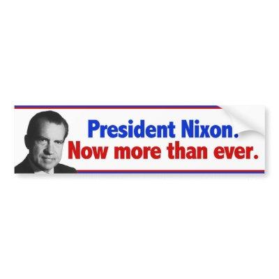 Nixon Now 1972 Campaign Button