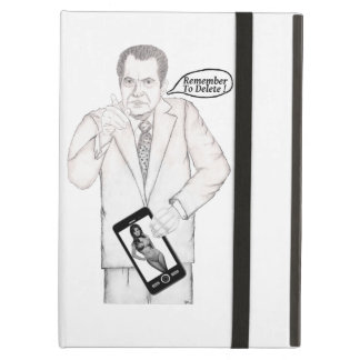 """Nixon """"Remember To Delete"""" Cover For iPad Air"""