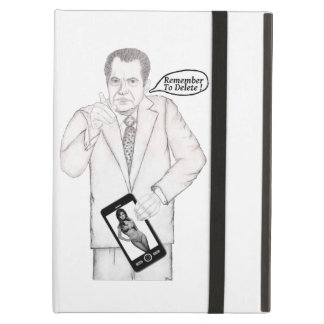 """NIXON """" Remember To Delete ! """" Cover For iPad Air"""